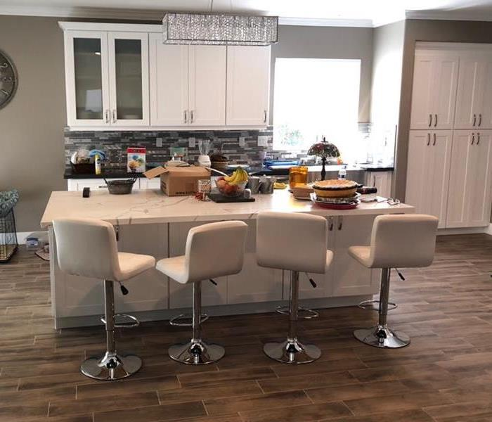Flooding becomes full kitchen remodel After